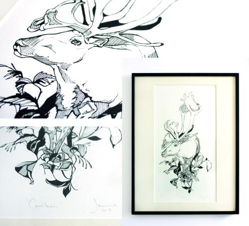 Caribou-screen-print