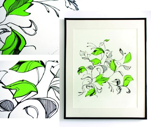 leaves-screen-print